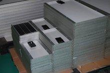 12V/6W photovoltaics monocrystalline silicon transparent solar panel