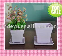 PlASTIC nursery flower pot growing plant flat tray