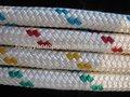 Doble trenzado / trenzado de nylon cuerda