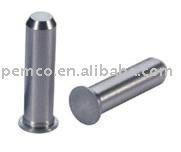 Stainless steel flush mounted self clinching pilot pin TPS-3mm-10