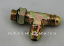 carbon steel TEE jic hydraulic fittings