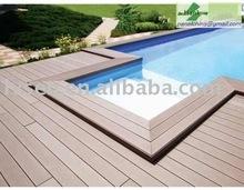 Moisture proof WPC Flooring Boards Around Pools