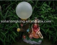 hot sell solar fair lady garden light LK49991
