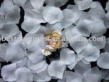 Wedding Pure white Silk Rose Petals