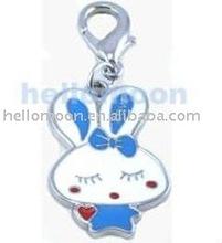 Fashion cheap silver dog pet jewelry rabbit