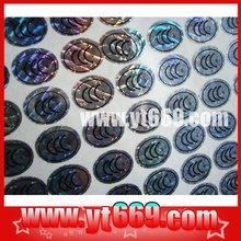 Newly Anti-counterfeit holographic custom epoxy label