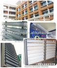 Modern buliding sun shade aluminum window louvre /shutters