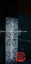 Modern design aluminum perforated decorative curtain wall/ column cover