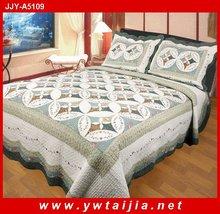 New style 100% cotton reactive dye printed 4pcs comforter