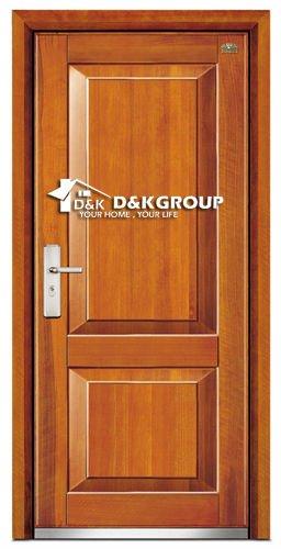 Acier bois blind porte d 39 entr e portes id du produit - Porte d entree blinde ...