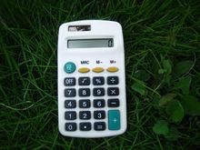 hot sale new design dual power solar pocket calculator electronic calculator