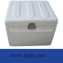 fiberglass motorcycle top case with rubber cushion