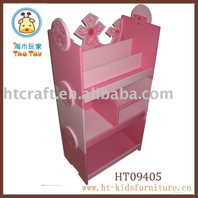 Mdf de color rosa muebles de los niños estanteríaOtros Mueble