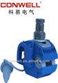 Fabricante de fijación de uñas/cable accesorios/cable conector-- kw2- 150( azul)