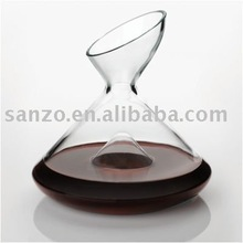 wine glass decanter For health