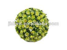 2012 Hot Decorative Yellow Artificial Rose Flower Ball
