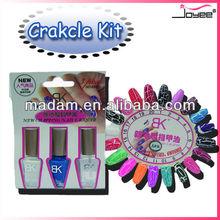 Agrietada de esmalte de uñas md-bk-gltz001b