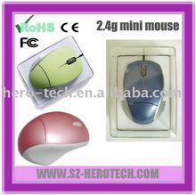 gift mini 2.4g optical mouse