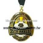 Sport Medal / Medallion / enamel medal / gold silver and bronze metal medals