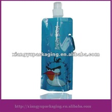 Sport water bottle with carabiner