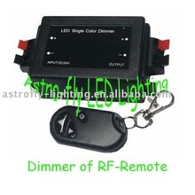China led controller CE ROHs Remote RGB RF Dimmer