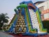 Monster tree house giant inflatable slide