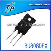 shenzhen topradar original BU808DFX transistor good quality lowest price for wholesae