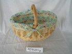 Full handmade fruit Willow Basket