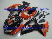 GSX fairing GSXR600 750 fairing 08-09 BLACK&ORANGE fairing