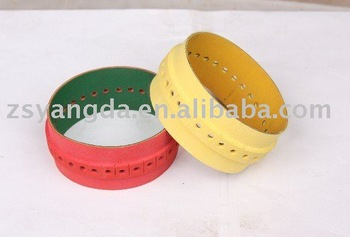 slow down belt with hole for offset printing press
