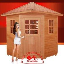outdoor sauna house