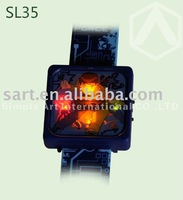 flashing lcd watch with Ben 10 image