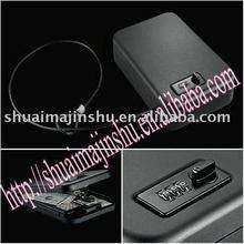 Pistol safe with keypad lock