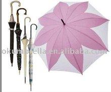 speical leaf umbrella for lady use special umbrella