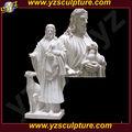 Famosa estatua de mármol humana y animal stu-c013
