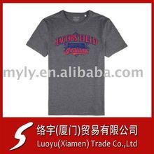 100 cotton bulk t-shirt plain or custom logo