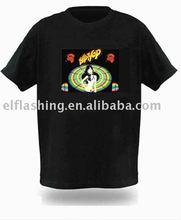 Hip Hop Girl LED T-Shirt