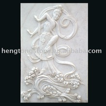 Chinese Marble Figure Embossment