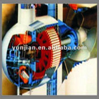 bulb turbine generator