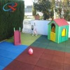 Soft Child Playground Rubber Floor