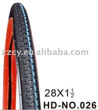 colored solid rubber bicycle tire