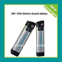 TB-3610E-F 36v battery 10Ah for E-bike+BMS with alumium case