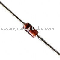 Though Hole DIP Zener Diode DO-204AL, DO-41, Axial 1N4736 Original ST Brand Diodes 6.8V 5% 3.5 Ohm