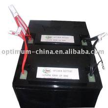 Very long cycle life solar panel/solar energy/powered led strip light battery 12V 50Ah