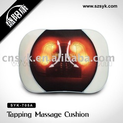 (SYK-705A)breathable fabric 3D multifunction massager with 2 kneading balls (CE,RoHS)