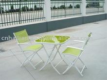 garden metal folding furniture set