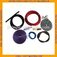 Car Amplifier Wiring Kit 6GA AMP Wiring kit