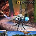 Libellule Animated de modèle d'insecte simulée par équipement de parc à thème