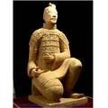 Statua decorativa del giardino dei guerrieri di terracotta