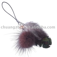 Fashion Colorful Rooster Natural Feather